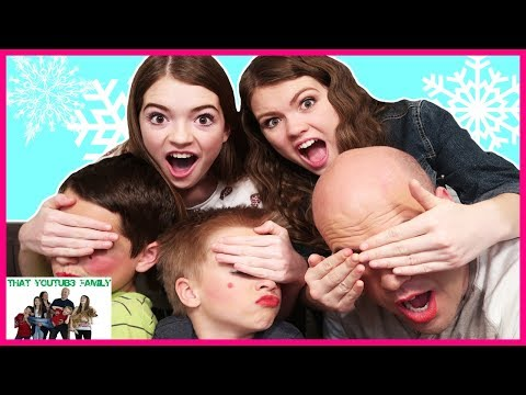 GIRLS DO BOYS HOLIDAY MAKEUP / That YouTub3 Family