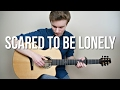 Download Martin Garrix - Scared To Be Lonely - Fingerstyle Guitar Cover | Mattias Krantz
