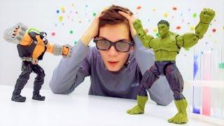 Супергерои: видео с игрушками. Как избавиться от сверхспособностей?