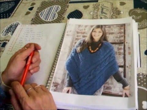 La maglia di Sara. PONCHO ! Schemi e modelli. Part. I