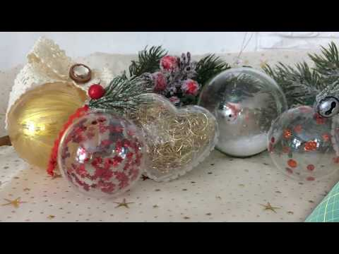 Weihnachtskugeln gestalten - Anleitung