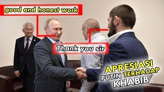 Khabib nurmagomedov met Vladimir Putin after winning at UFC 242