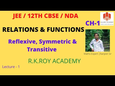 Relation & Functions | Lecture - 01
