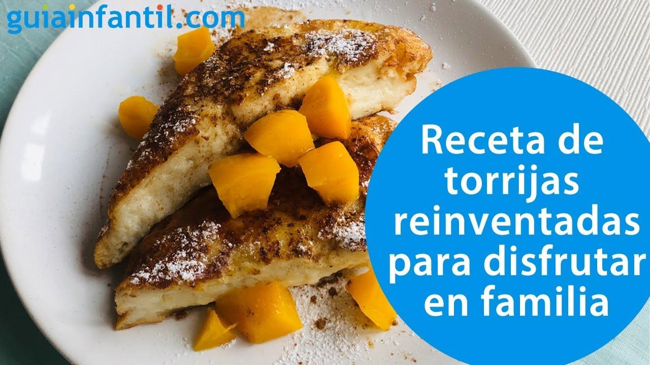 Receta de torrijas reinventadas con melocotón | La Semana Santa más dulce