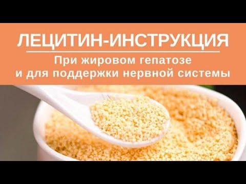 Лецитин-инструкция. Как принимать лецитин при жировом гепатозе и для поддержки нервной системы