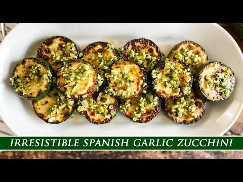 Spanish Garlic Zucchini – Your Perfect Weekend Snack