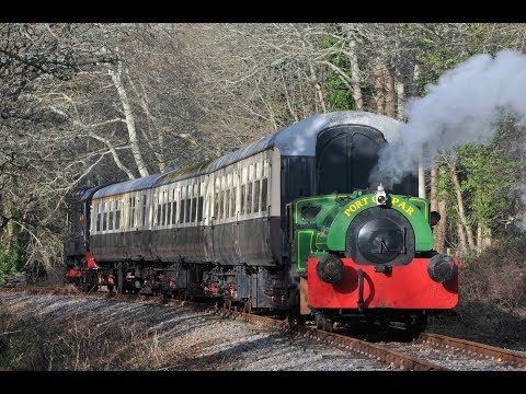 Port of Par 0-4-0ST 'Judy' at work on the Plym Valley Railwa…