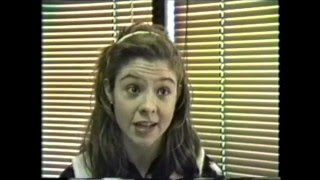 Megan Follows Audition- Anne Of Green Gables