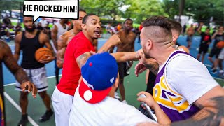 Miami Trash Talkers Wanted To FIGHT! EXPOSED Bad!! 5v5 Basketball