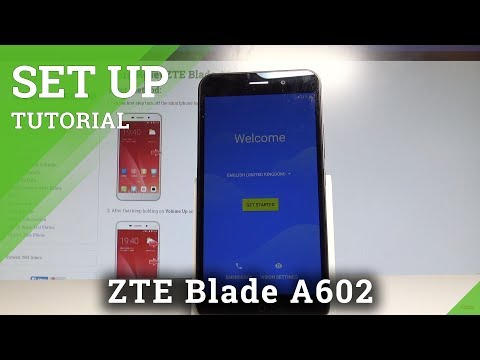 How to Set Up Screen Lock in ZTE Blade A602 - Pattern