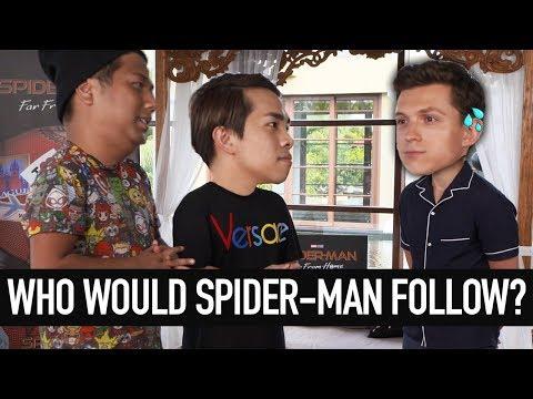 Spider-Man Reunion + Cooking Challenge (w Tom Holland)