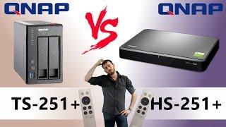 Qnap Desktop NAS TS-251+-2G 2-Bay RAID (2GB RAM)