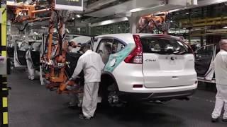 Так собирают Вашу  HONDA CR-V.Assembling Your car