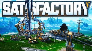 Created The Amazing Space Elevator in Satisfactory