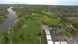 preview picture of video 'DJI F550 Drone over Marlow'