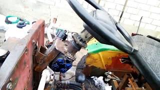 Самодельный трактор двс 2109.