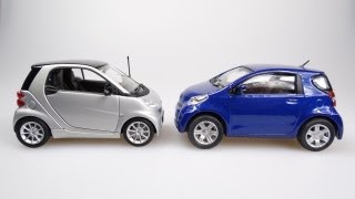 The Smart Fortwo vs the Toyota IQ (2012 Video)