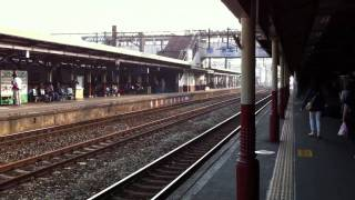 preview picture of video 'Taroko Express (Zihchiang Class) passing through Hsinchu Railway Station'