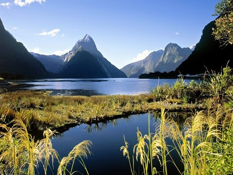 Video New Zealand in a Camper Van Part 1 (South Island) HD. Revised