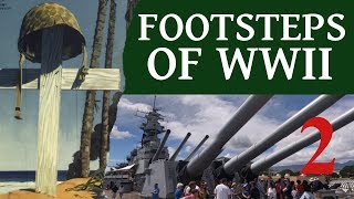 Footsteps of World War II #2, USS Missouri