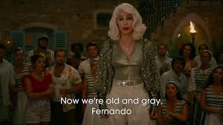 Mamma Mia! Here We Go Again   Fernando (Lyrics) 1080pHD