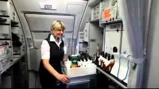 preview picture of video 'Jungfernflug der Germania: Mit dem Airbus zum Flughafen Kassel-Calden'