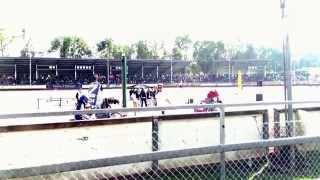 preview picture of video 'Landshut  Speedway-Stadion Ellermühle 5 zweiter crash'
