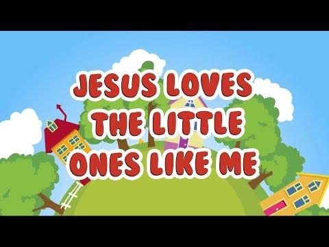 Jesus Loves the Little Ones Like Me | Christian Songs For Kids