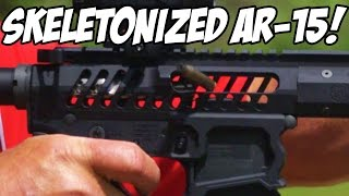 Light-Weight Skeletonized AR-15 & April Giveaway Announcement!  WE ARE GIVING THIS RIFLE AWAY!