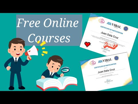 FREE ONLINE COURSES For Teachers | With Certificate | Tagalog