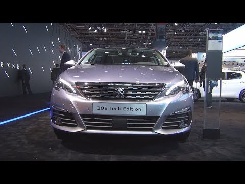 Peugeot 308 Tech Edition PureTech 130 S&S EAT8 5-doors (2019) Exterior and Interior