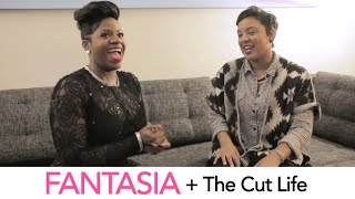 Fantasia talks hair and style with The Cut Life