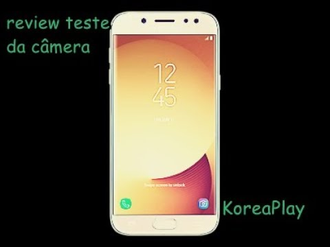 video teste Samsung Galaxy J5 Pro