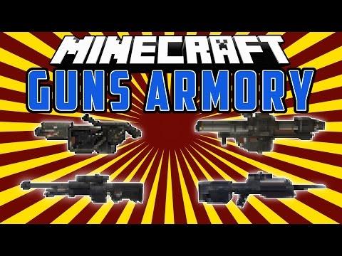 UNSC GUNS ARMORY: Lanza Llamas, Rifle Francontirador Y Mas!!! - Minecraft Mod 1.8