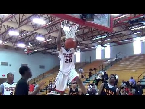 Shaq's Son Shareef O'Neal Puts on a Dunking Show, DISSES 2017 All-Star Dunk Contest Participants