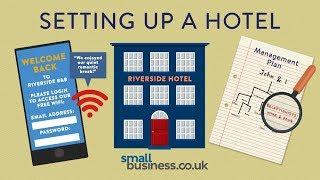 How to set up a small hotel business