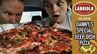 Labriola Ristorante & Cafe Deep Dish Pizza Food Review   Season 4, Episode 15