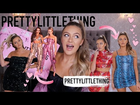 PRETTYLITTLETHING X LITTLE MIX HUGE HAUL!!!! | £400 TRY ON??!
