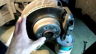 How To Install A New FRONT Wheel Bearing Hub On BMW E65 E66