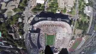 Golden Knights Parachute Into DKR Stadium