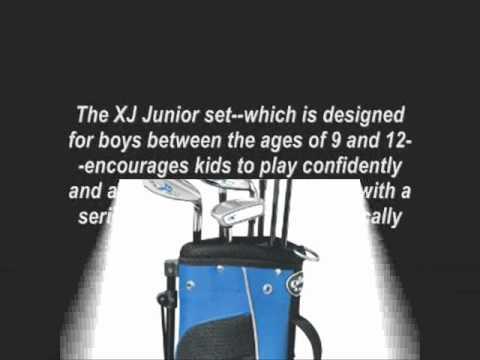 Callaway XJ Junior 11 Piece Boy's Golf Club Set 9 12 Years Old
