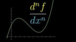 A very quick primer on the second derivative, third derivative, etc.Full playlist: http://3b1b.co/calculus------------------3blue1brown is a channel about animating math, in all senses of the word animate.  And you know the drill with YouTube, if you want to stay posted about new videos, subscribe, and click the bell to receive notifications (if you're into that).If you are new to this channel and want to see more, a good place to start is this playlist: http://3b1b.co/recommendedVarious social media stuffs:Website: https://www.3blue1brown.comTwitter: https://twitter.com/3Blue1BrownPatreon: https://patreon.com/3blue1brownFacebook: https://www.facebook.com/3blue1brownReddit: https://www.reddit.com/r/3Blue1Brown