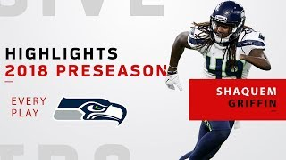 Every Shaquem Griffin Tackle | 2018 NFL Preseason Highlights