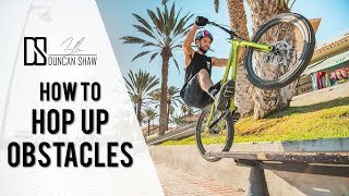 How to Hop Up Obstacles on Your Bike