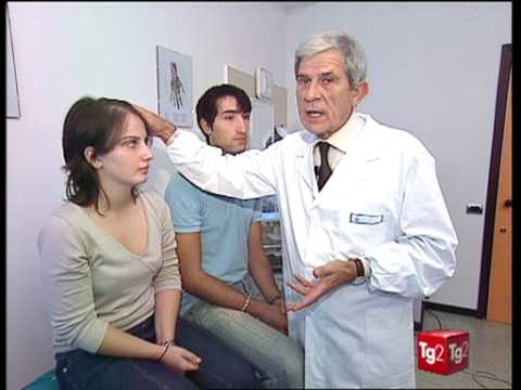 Eczema su medicina di mani