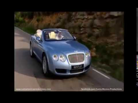 Bentley Continental GTC Advert Video Shot in Spain