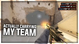 An extremely serious CS:GO Match..