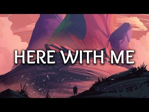 Marshmello ‒ Here With Me (Lyrics) Ft. CHVRCHES