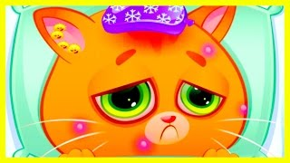 Мой виртуальный котик #1 Мультик игра симулятор котика видео для детей