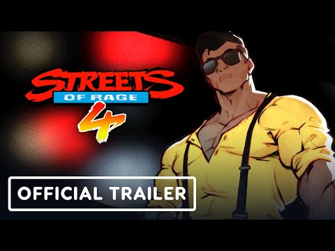 Streets of Rage 4 - Official Adam Hunter Trailer